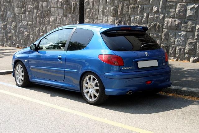 Samochód Peugeot 206
