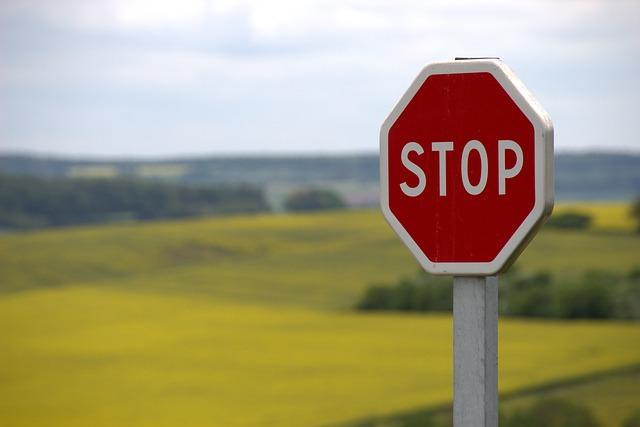 snak drogowy stop